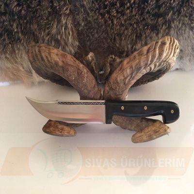 27 cm Fiber Saplı Tek İşlemeli Bıçak