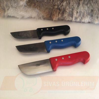 Plastik Saplı Renkli Yüzme Bıçağı