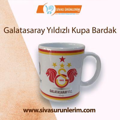 Galatasaray Yıldızlı Kupa Bardak