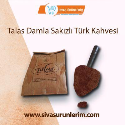 100 gr Talas Damla Sakızlı Türk Kahvesi