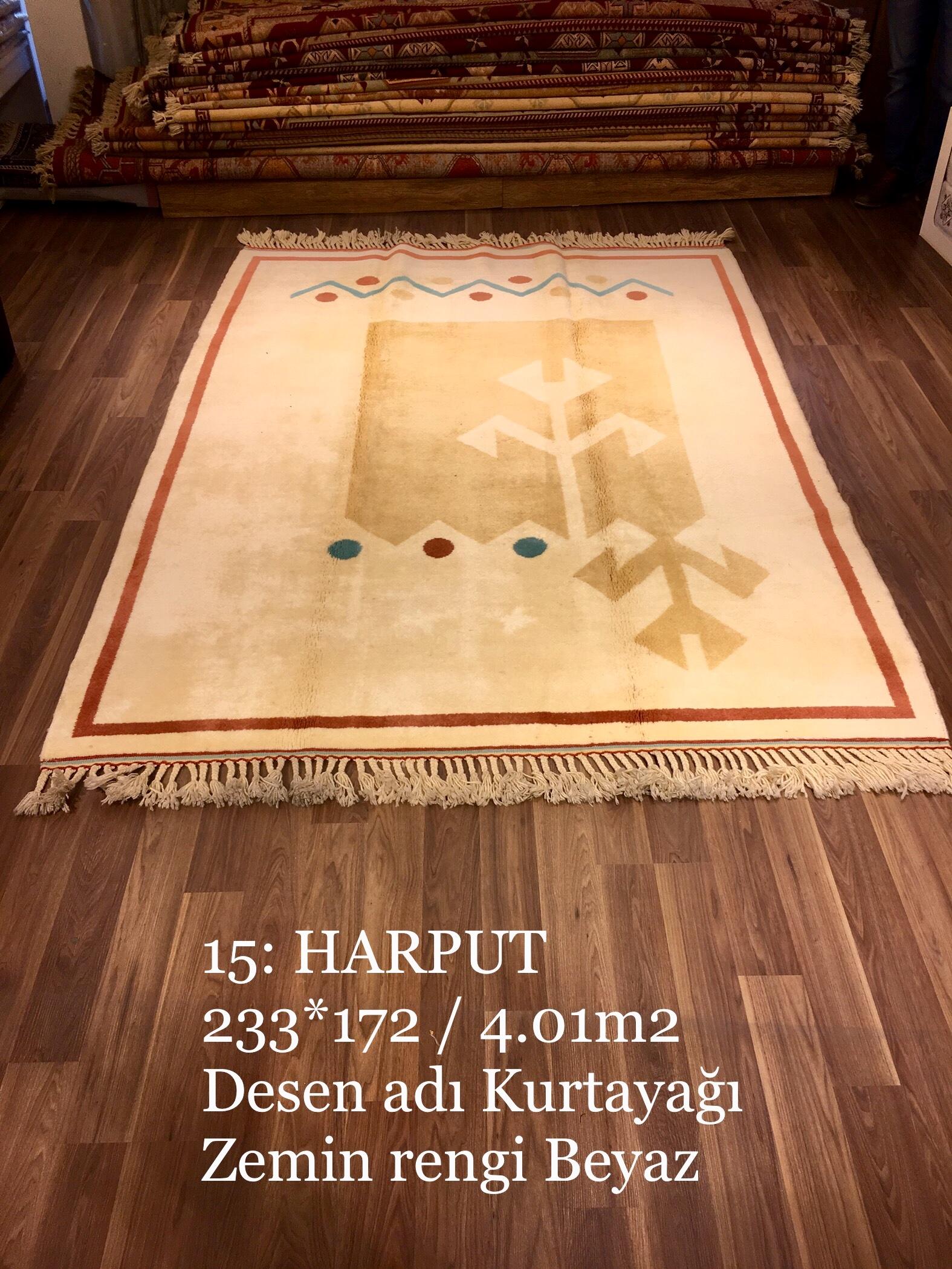 Harput El Dokuma Halısı 15
