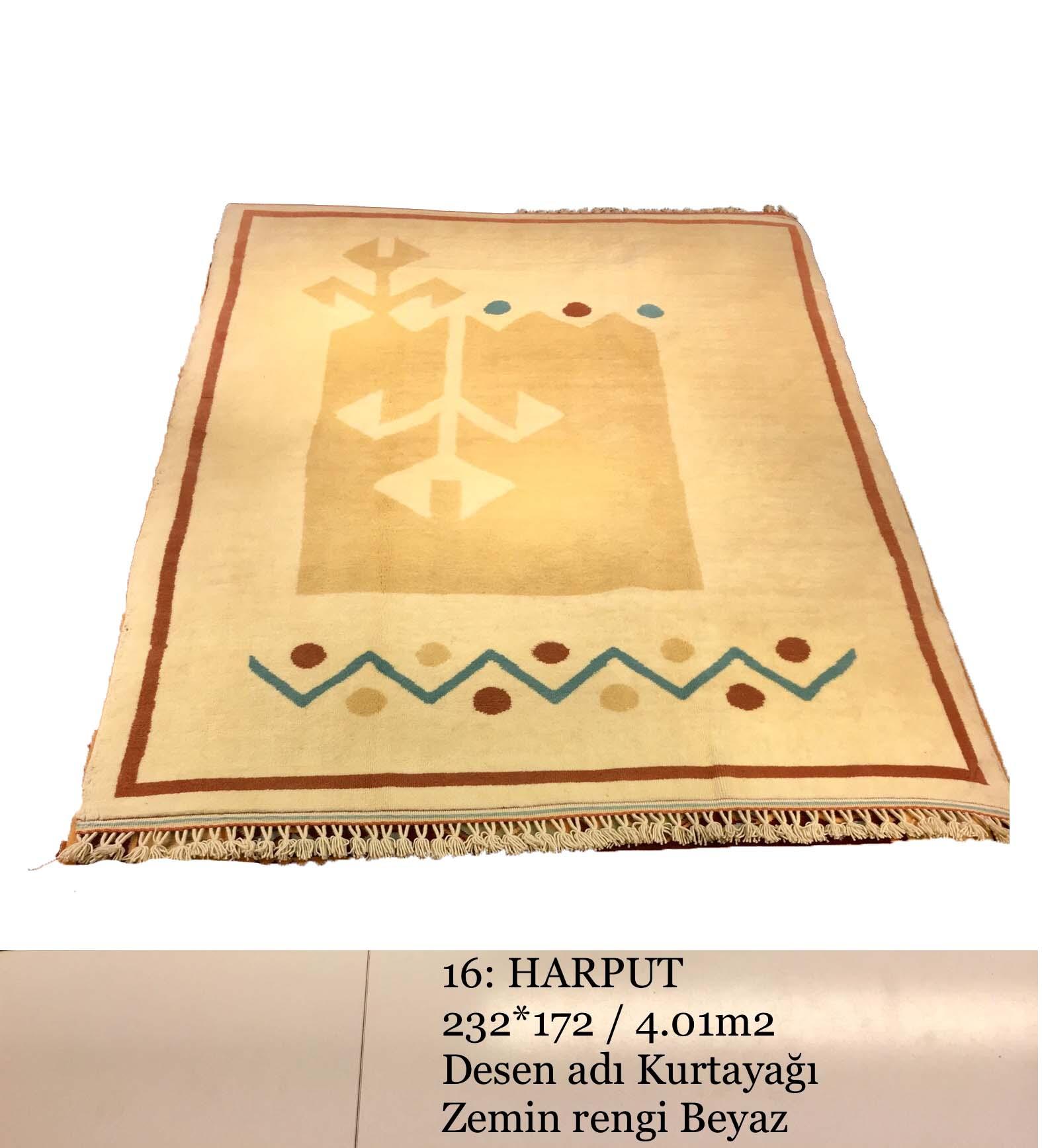 Harput El Dokuma Halısı 16