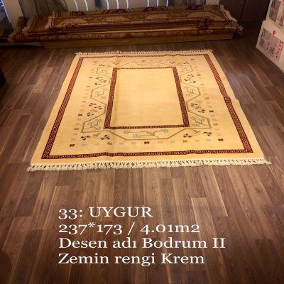 Uygur El Dokuma Halısı 33