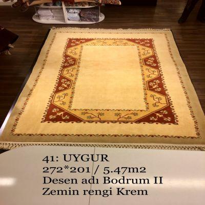 Uygur El Dokuma Halısı 41