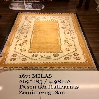 Milas El Dokuma Halısı 167