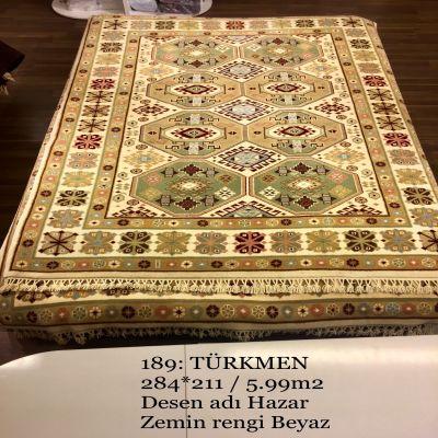 Türkmen El Dokuma Halısı 189