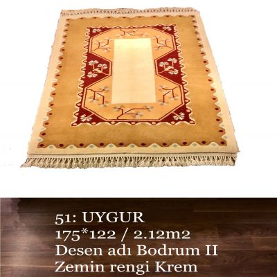 Uygur El Dokuma Halısı 51