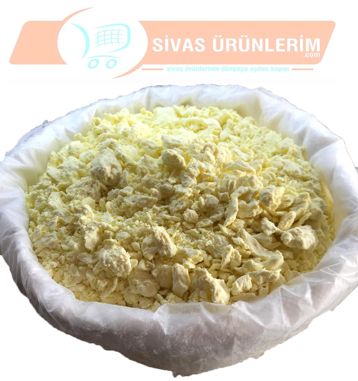 Sivas Yarım Yağlı Tulum Peyniri