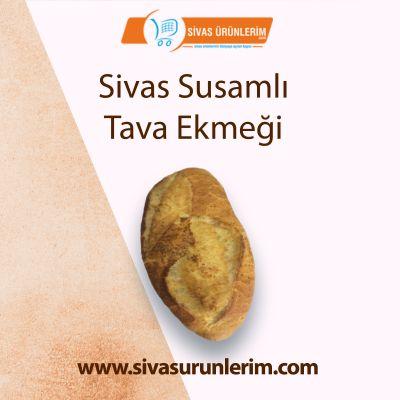 Sivas Susamlı Tava Ekmeği