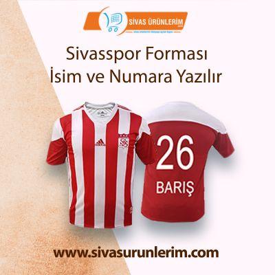 Sivasspor Forması İsim ve Numara Yazılır