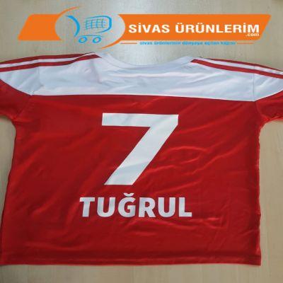Sivasspor Çocuk Takım Forması İsim ve Numara