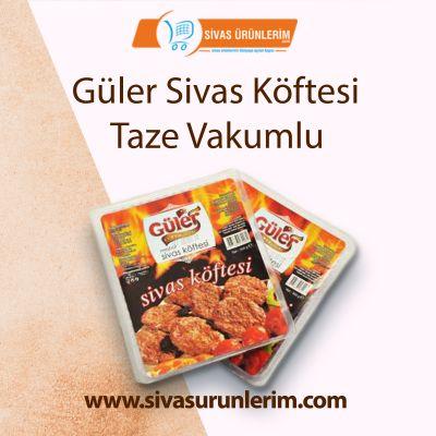 Güler Sivas Köftesi Taze Vakumlu