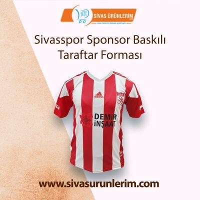 Sivasspor Sponsor Baskılı Taraftar Forması