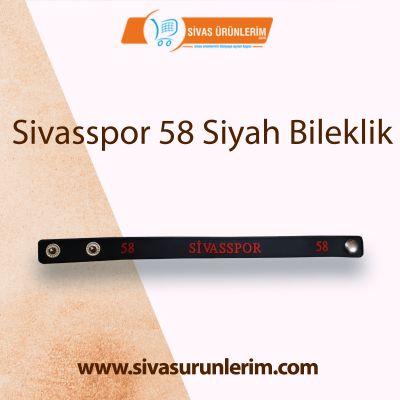 Sivasspor 58 Siyah Bileklik