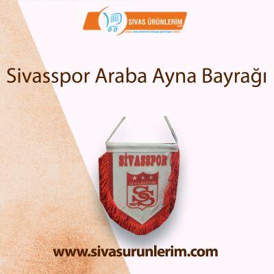 Sivasspor Araba Ayna Bayrağı