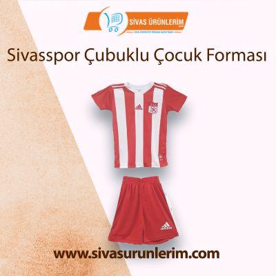 Sivasspor Çubuklu Çocuk Forması