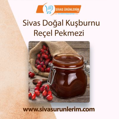 Sivas Doğal Kuşburnu Reçel Pekmezi