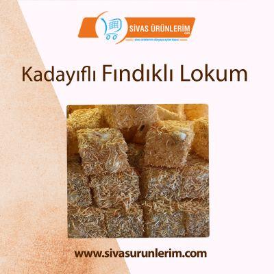 Kadayıflı Fındıklı Lokum