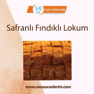 Safranlı Fındıklı Lokum