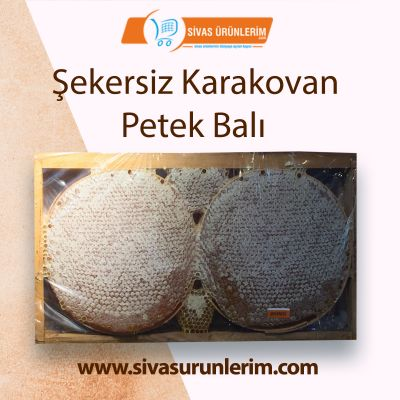 Şekersiz Karakovan Petek Balı