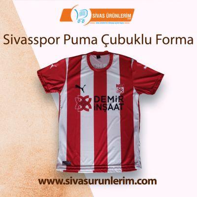 Sivasspor Puma Çubuklu Forma