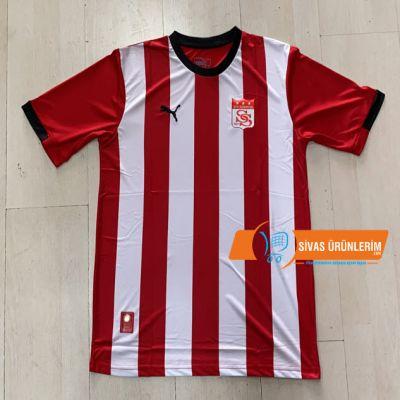 Sivasspor Puma Çubuklu Forması İsim Numara Baskılı