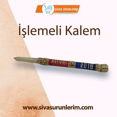 İşlemeli Kalem