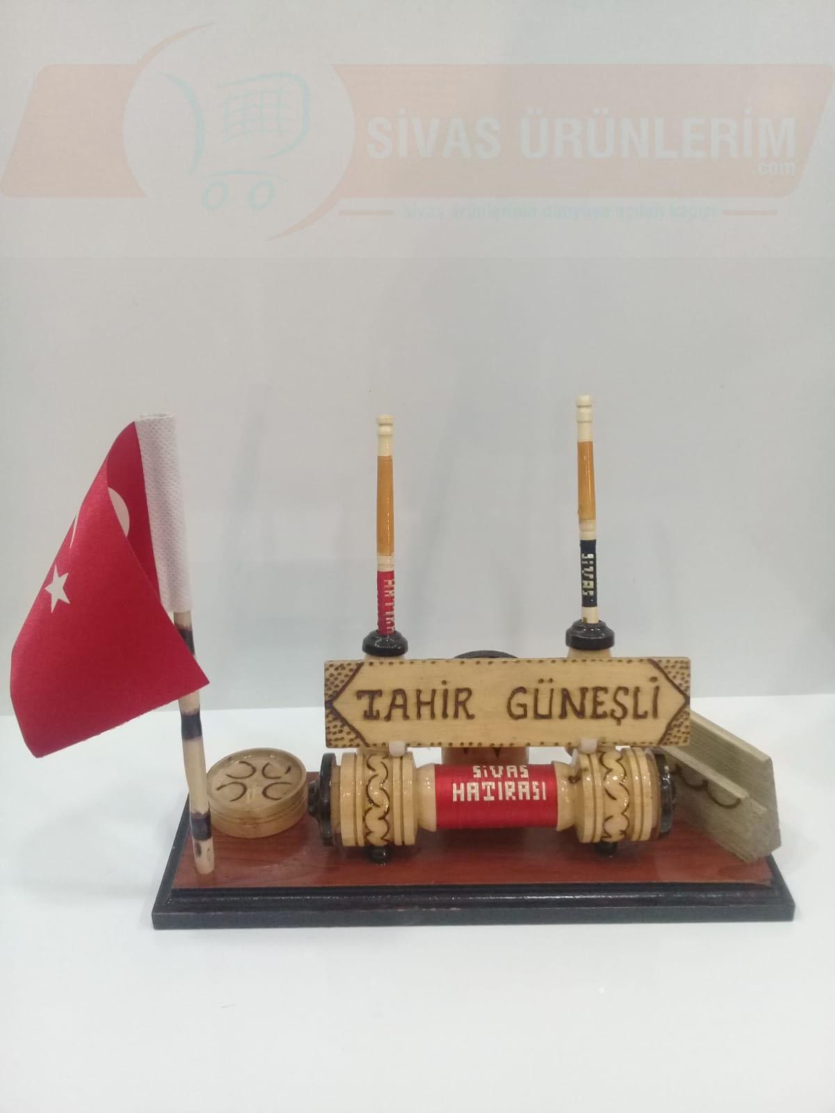 Türk Bayraklı Kalemlik
