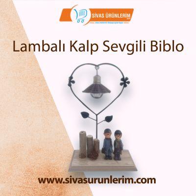 Lambalı Kalp Sevgili Biblo